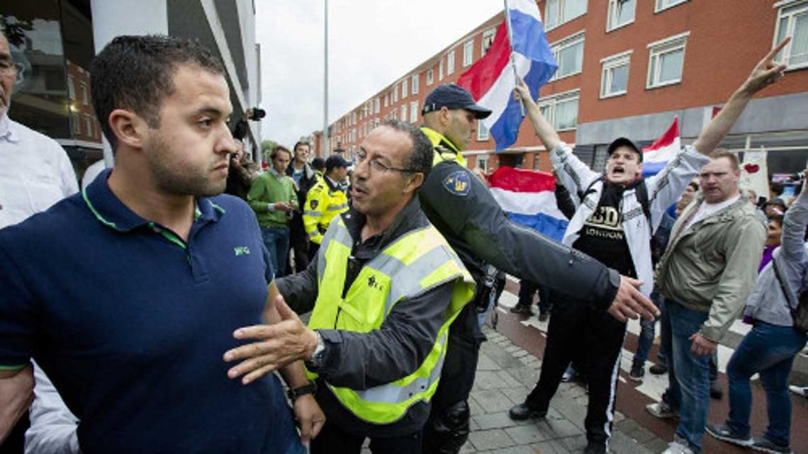 Антиісламська демонстрація в Гаазі