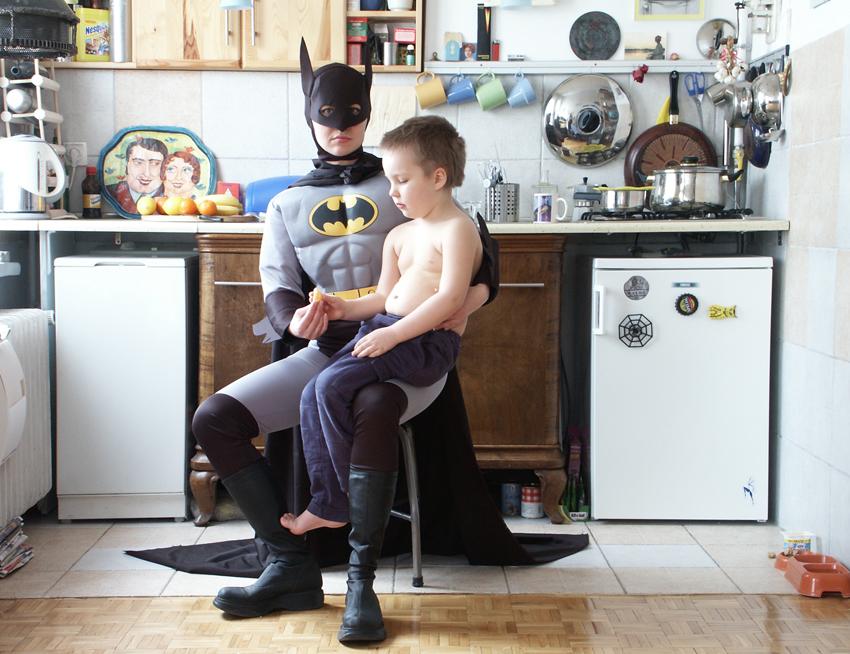 Ельжбета Яблонська. Супермама (2002). Бетмен