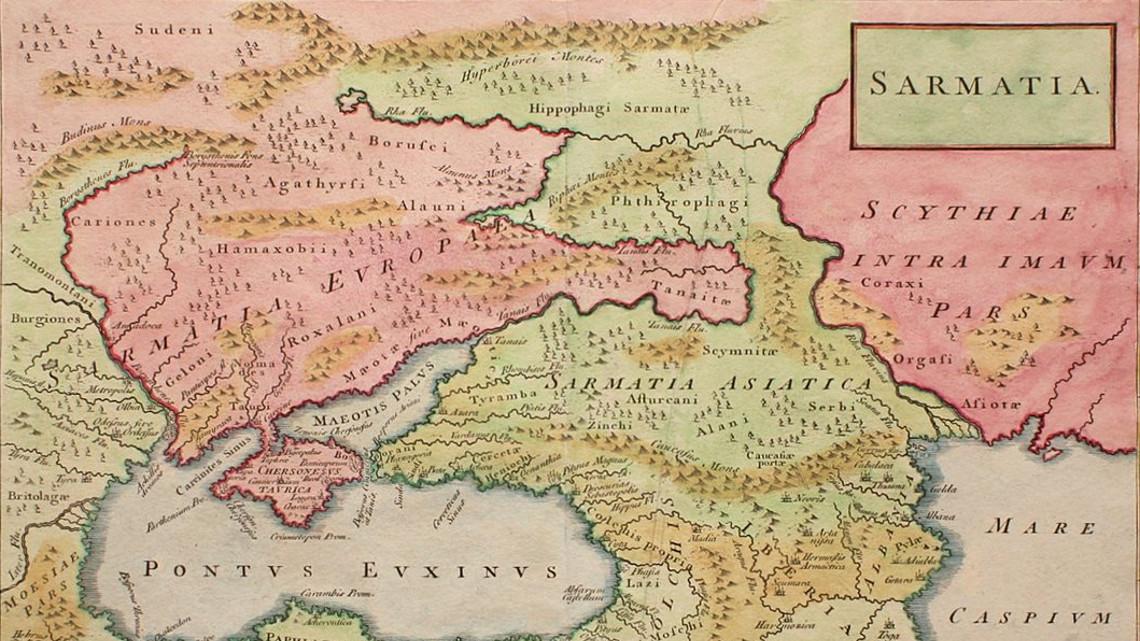 Карта України 1786
