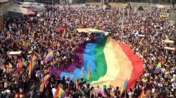 ЛГБТ-прайд на площі Таксім у Стамбулі