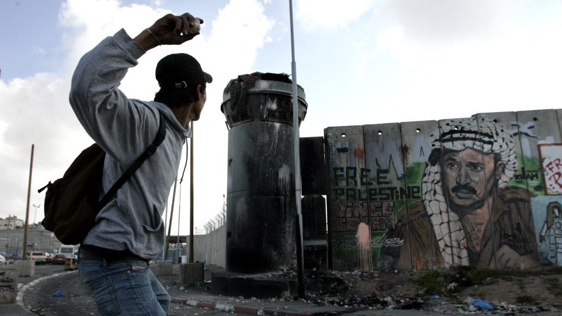 Графіті на роздільній стіні, Ізраїль-Палестина