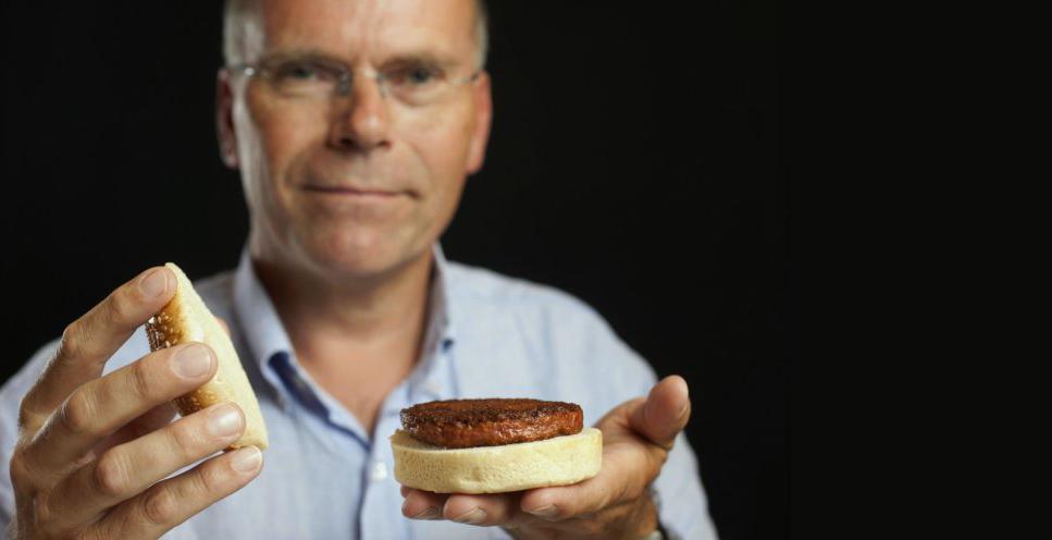 Марк Поуст (Mark Post) — дослідник, що створив перший у світі «штучний» бургер у 2013 році.