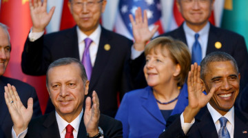 Ердоган, Обама і Меркель