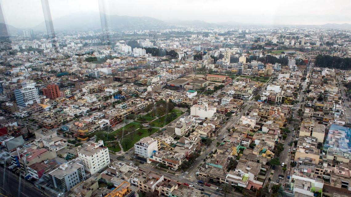 Столиця Перу з висоти пташиного польоту