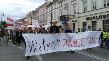 Акція в Польщі Волинська трагедія