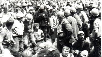Страйк шахтарів у 1990 році