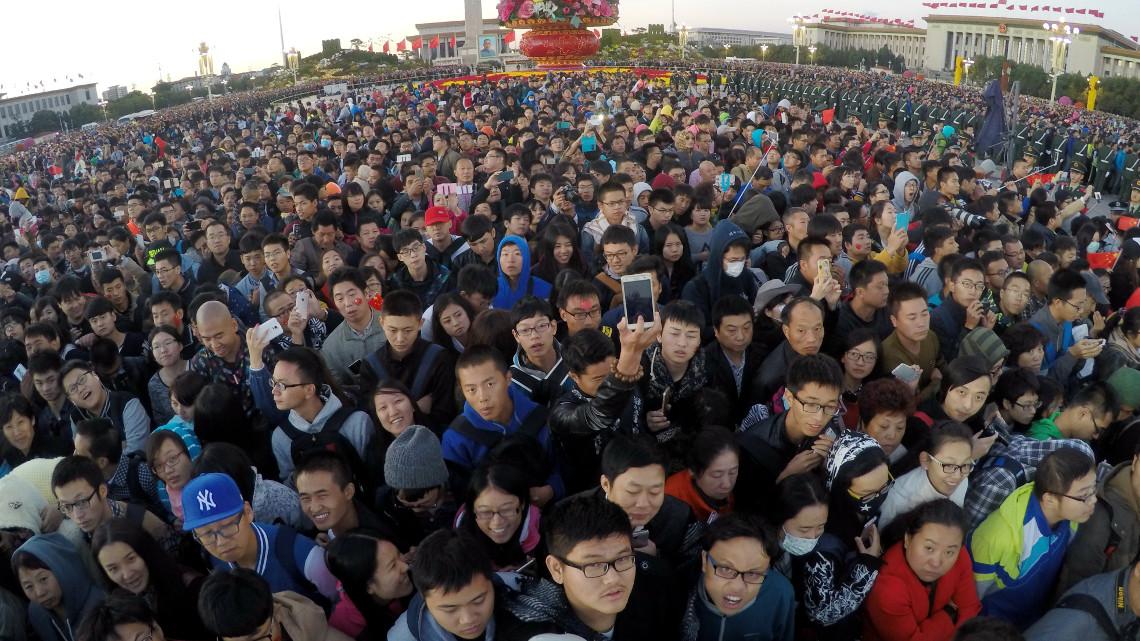 Натовп у Китаї