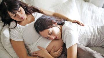Лесбійська пара вагітна