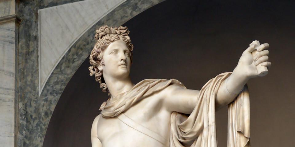 Знаменитий Аполлон Бельведерський був розкопаний в епоху Відродження, але він датований початком II ст. нашої ери. У ньому вбачали ідеал краси у XVIII столітті. Сьогодні ця статуя виставлена в музеї Ватикану в Римі. Фото: Wikimedia (CC BY-SA 4.0)