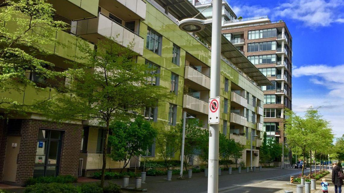Муніципальне орендоване житло для сімей в Олімпійському містечку Ванкувера. (Брент Тодеріан)