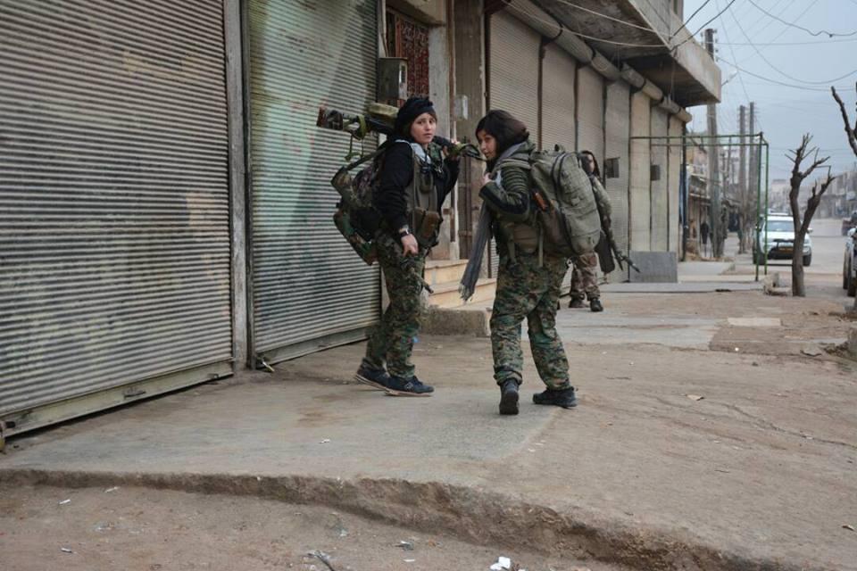 курдские снайперки