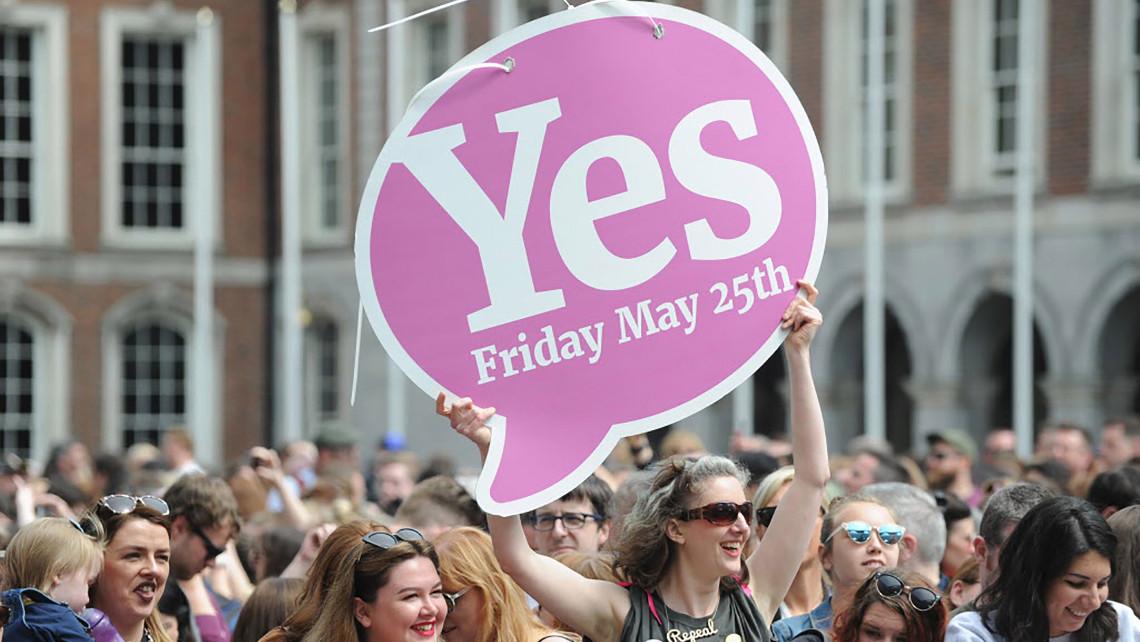 Скасування заборони абортів. Референдум в Ірландії