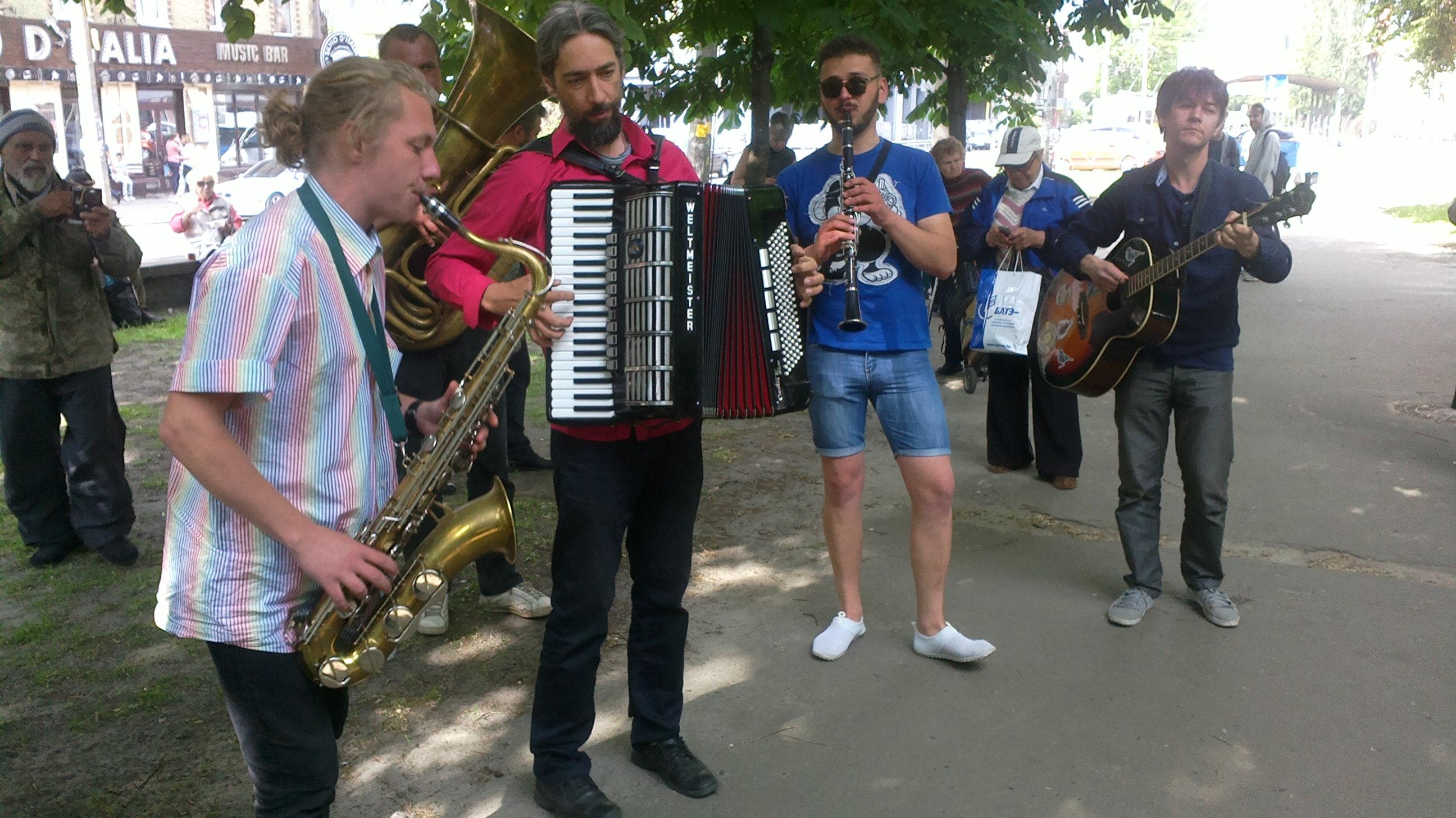 Концерт для бездомних. Kyiv Klezmer Fest