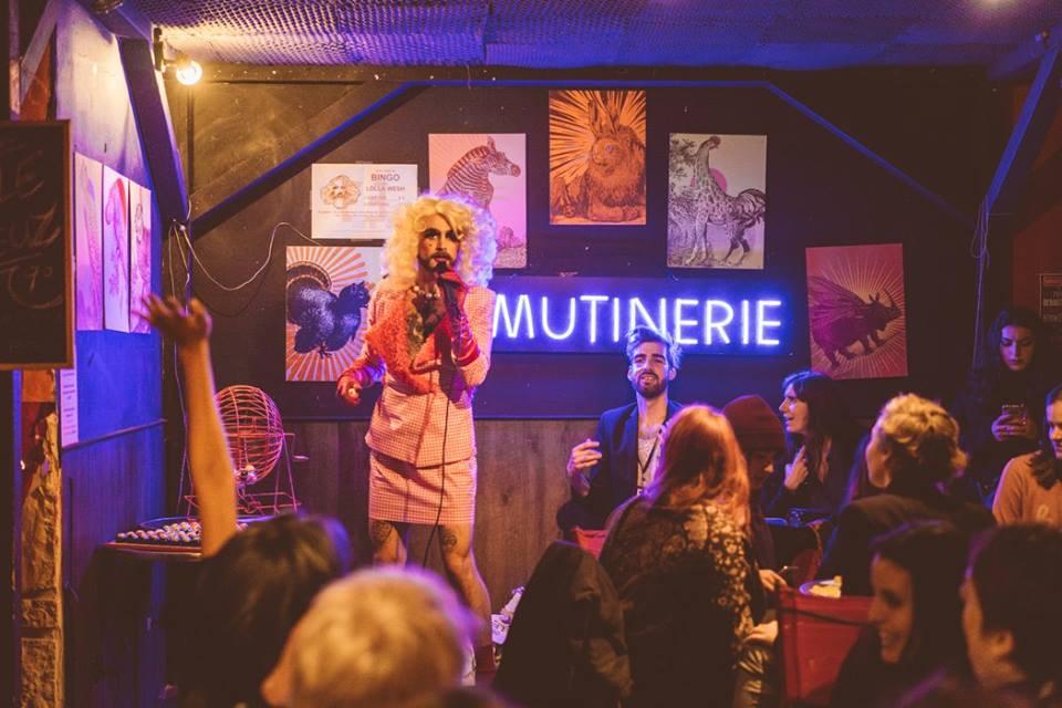 Лесбійський бар La Mutinerie в Парижі. Джерело: Manifesto XXI