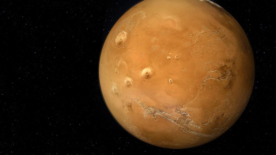 Під поверхнею Марсу може бути достатньо кисню для життя