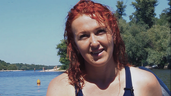 Оксана Чехместренко - перша в Україні водолазка-рятувальниця